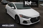 2017 Hyundai Elantra Sport One owner, No accident.Leather, Power options, 201 HP