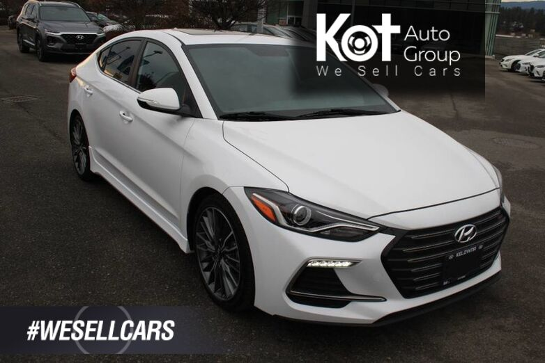 2017 Hyundai Elantra Sport One owner, No accident.Leather, Power options, 201 HP Kelowna BC