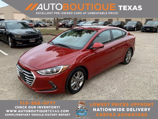 2017 Hyundai Elantra Value Edition Houston TX