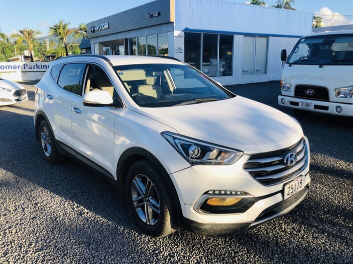 2017 Hyundai SANTA FE DM 2.4L GASOLINE 4WD 6-SPEED MANUAL TRANSMISSION SUV Vaitele