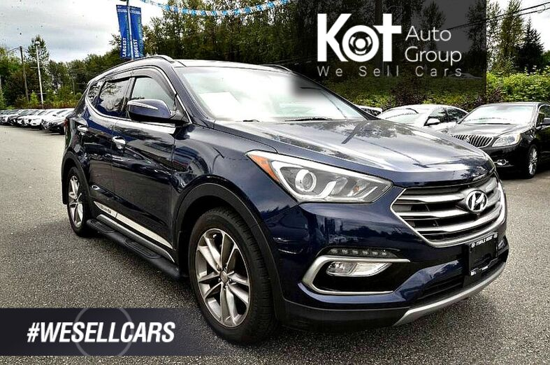 2017 Hyundai SANTA FE ULTIMATE! 2.0 TURBO! FULL LOAD! LEATHER! NAV! PANORAMIC SUNROOF! Kelowna BC