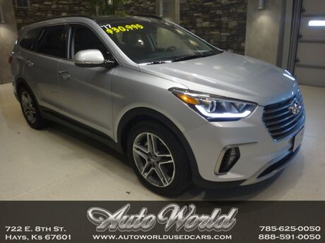 2017 Hyundai SANTA FE ULTIMATE AWD  Hays KS