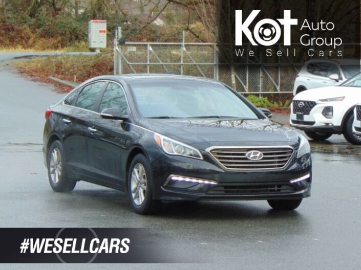 2017 Hyundai SONATA GLS! SUNROOF! SPORT MODE! BACKUP CAM! BLUETOOTH! HEATED STEERING WHEEL! BLIND SPOT DETECTION! Kelowna BC