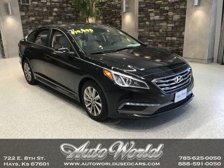 2017 Hyundai SONATA SPORT  Hays KS
