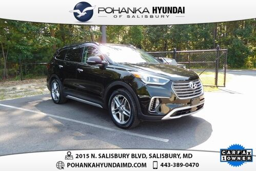 2017_Hyundai_Santa Fe_Limited Ultimate **ONE OWNER**CERTIFIED**_ Salisbury MD