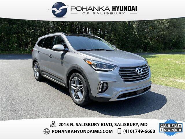2017 Hyundai Santa Fe Limited Ultimate **ONE OWNER**CERTIFIED** Salisbury MD