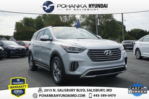 2017_Hyundai_Santa Fe_Limited Ultimate **ONE OWNER**CERTIFIED**END OF MONTH BLOW OUT_ Salisbury MD