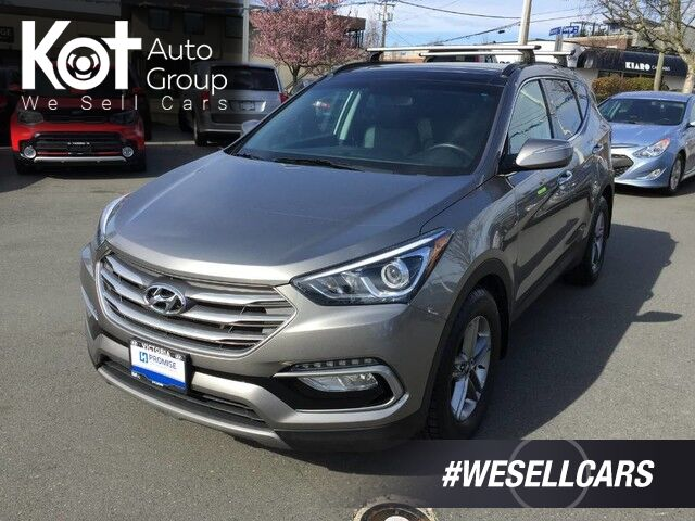 2017 Hyundai Santa Fe SE! TURBO! LEATHER! PANORAMIC SUNROOF! 1 OWNER! Victoria BC