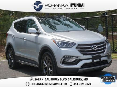2017_Hyundai_Santa Fe Sport_2.0L Turbo Ultimate **1 OWNER**CERTIFIED**_ Salisbury MD
