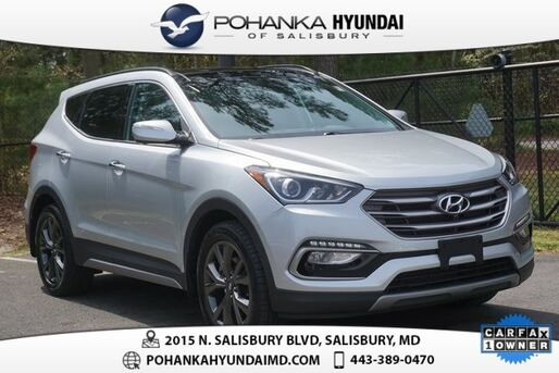 2017_Hyundai_Santa Fe Sport_2.0L Turbo Ultimate **1 OWNER**CERTIFIED**_ Salisbury MD