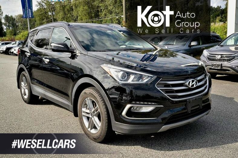 2017 Hyundai Santa Fe Sport AWD 4dr 2.4L Luxury. AWD! Parking sensors! Blind spot detection! Kelowna BC