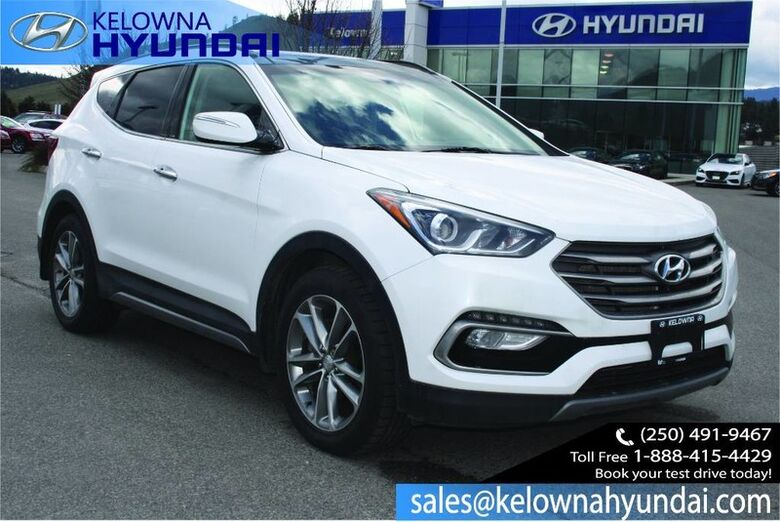 2017 Hyundai Santa Fe Sport Limited Leather, Sunroof, Nav, Heated and cooled seats Kelowna BC