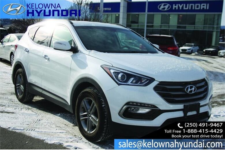 2017 Hyundai Santa Fe Sport Premium Heated seat, Back up cam, Bluetooth Kelowna BC