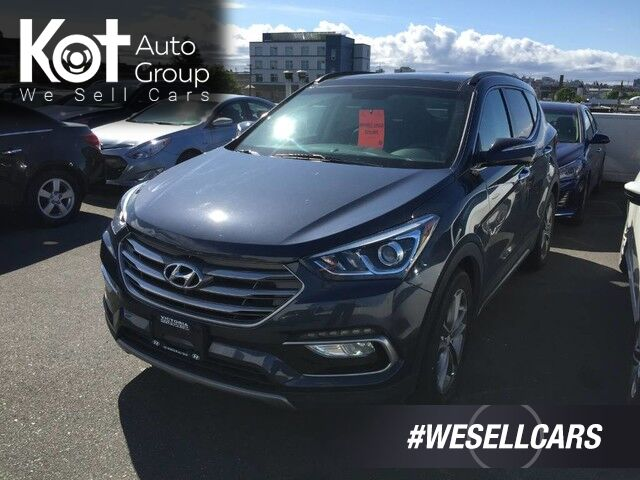 2017 Hyundai Santa Fe Sport SE 2.0 TURBO! LEATHER! PANORAMIC SUNROOF! Victoria BC