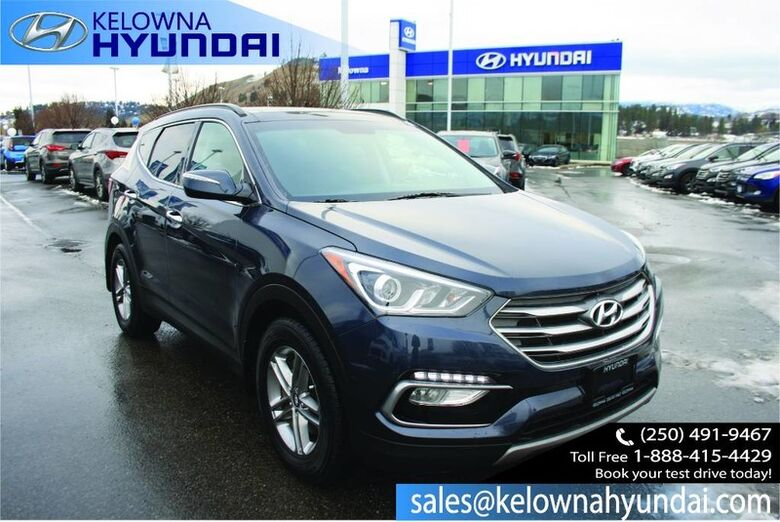 2017 Hyundai Santa Fe Sport SE Leather heated seats, Remote Keyless Entry,Rear View Camera,Power Kelowna BC