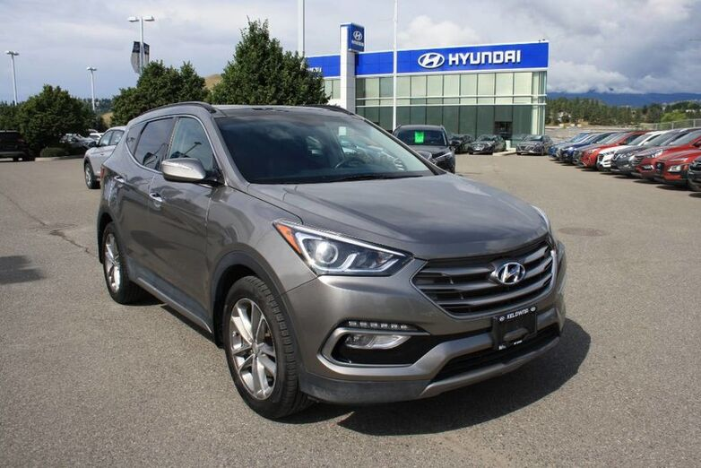 2017 Hyundai Santa Fe Sport SE No accident,Leather, Sunroof, Blindspot, Backup camera. Kelowna BC