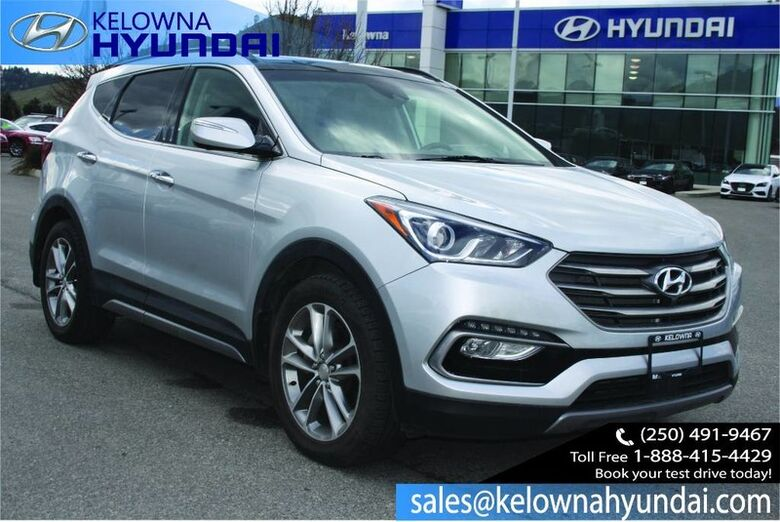 2017 Hyundai Santa Fe Sport Ultimate Back up cam, Leather sunroof, Nav, Heated and cooled se Kelowna BC