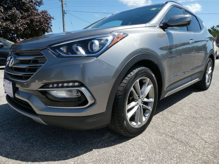 2017 Hyundai Santa Fe Sport Ultimate Navigation Cooled Seats Panoramic Roof Essex ON