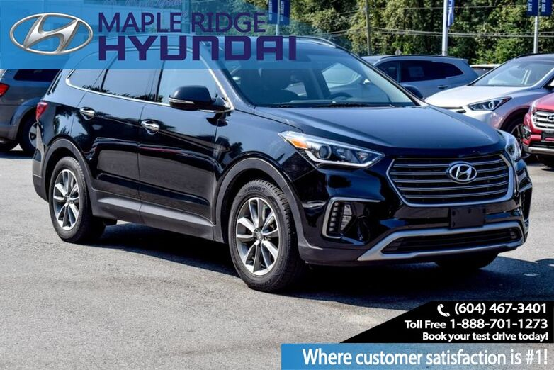 2017 Hyundai Santa Fe XL AWD 4dr Luxury w/6-Passenger Maple Ridge BC