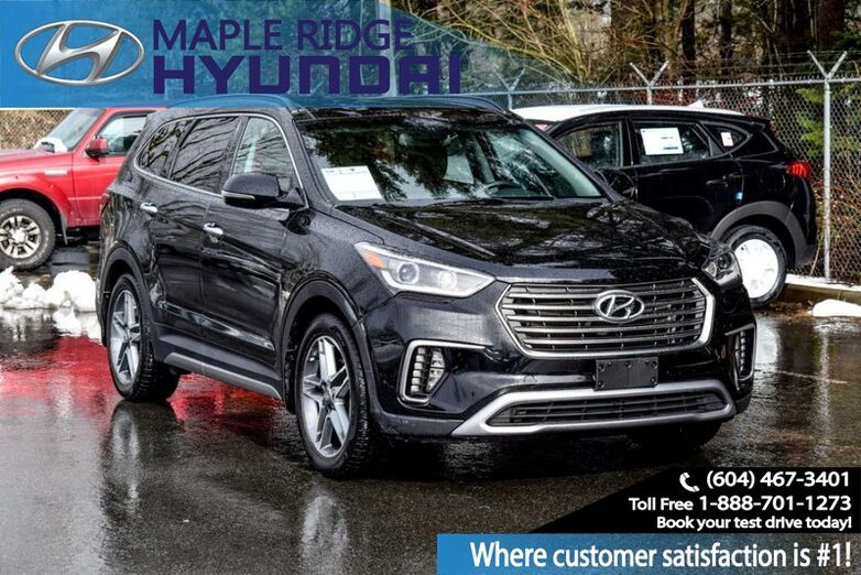 2017 Hyundai Santa Fe XL AWD Navigation, Heated Seats, Backup Camera Maple Ridge BC