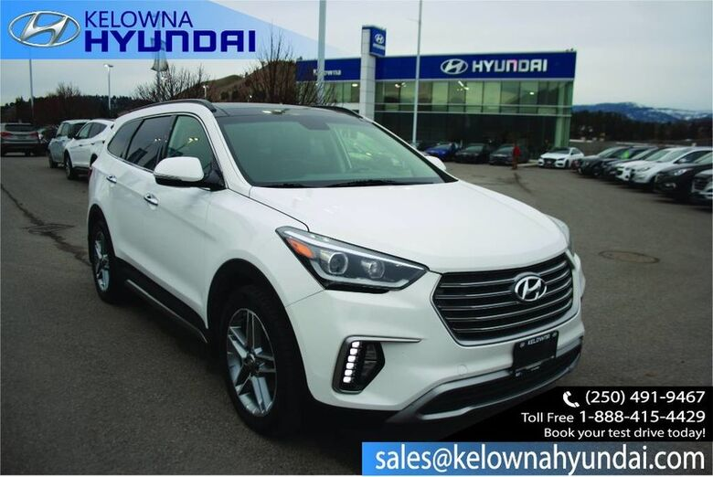 2017 Hyundai Santa Fe XL Limited Keyless entry, Bluetooth, Leather, Sunroof, Nav Kelowna BC