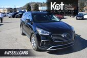 2017 Hyundai Santa Fe XL Limited Leather,sunroof, Heated seats, Power seat, Backup camera, Navigation.