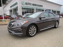 2017_Hyundai_Sonata_LIMITED  BLUETOOTH CONNECTION, NAVIGATION SYSTEM, SUNROOF, BLIND SPOT INTERVENTION_ Plano TX