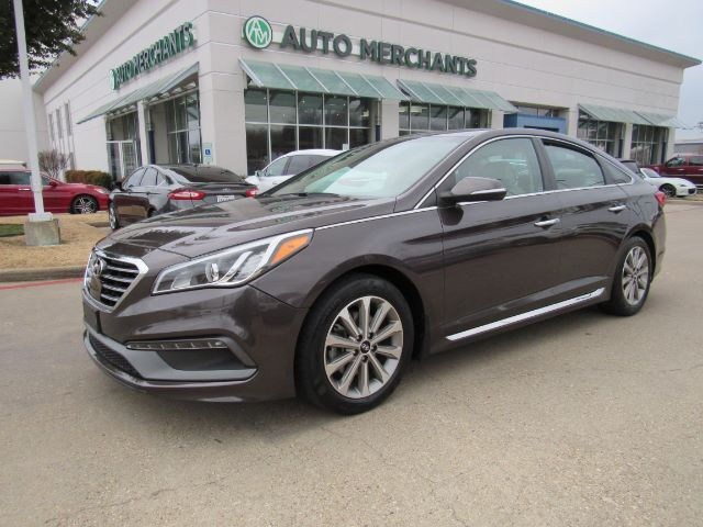 2017 Hyundai Sonata Limited Bluetooth Connection Navigation System Sunroof Blind Spot Intervention Plano Tx 27988235