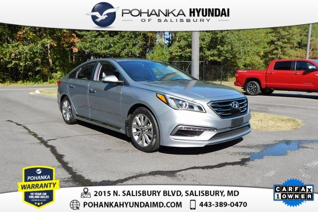 2017 Hyundai Sonata Limited **ONE OWNER** Salisbury MD