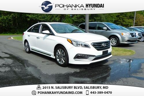 2017_Hyundai_Sonata_Limited **SNOW WHITE**CERTIFIED**_ Salisbury MD