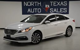 2017_Hyundai_Sonata_Sport Sunroof Back Up Camera_ Dallas TX
