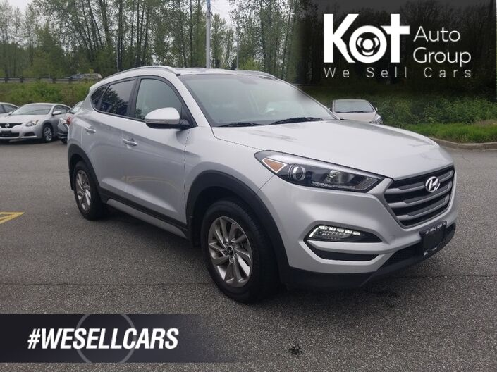 2017 Hyundai TUCSON PREMIUM! BACKUP CAM! HEATED SEATS! HEATED STEERING WHEEL! BLIND SPOT DETECTION! BLUETOOTH! Kelowna BC