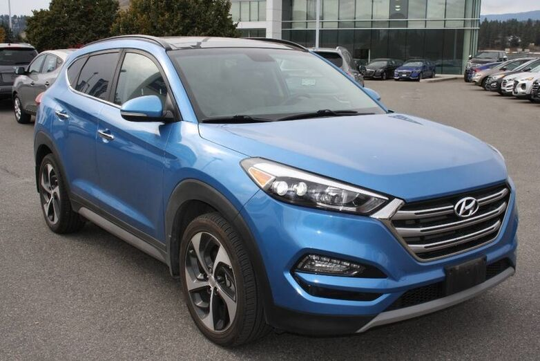 2017 Hyundai Tucson Limited Bluetooth, power options,Leather, Navigation, Full load. Kelowna BC