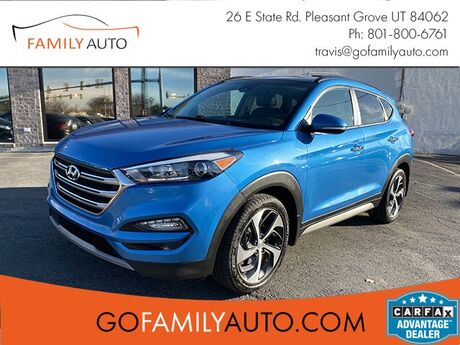 2017 Hyundai Tucson Limited w/Ultimate Package AWD Pleasant Grove UT