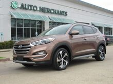 2017_Hyundai_Tucson_Limited w/Ultimate Package LEATHER, PANARAMIC SUNROOF, BACKUP CAM, BLIND SPOT MONITOR, HTD/CLD SEATS_ Plano TX