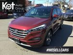 2017 Hyundai Tucson ULTIMATE! TURBO! LEATHER! NAV! PANORAMIC SUNROOF! LOW KMS!