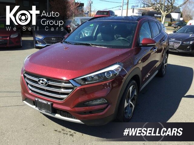 2017 Hyundai Tucson ULTIMATE! TURBO! LEATHER! NAV! PANORAMIC SUNROOF! LOW KMS! Victoria BC