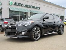 2017_Hyundai_Veloster_Turbo Leather, Back-Up Camera, Bluetooth Connection, Fog Lamps, Heated Front Seat(s), Keyless Start_ Plano TX