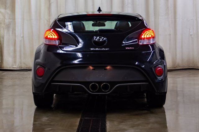 2017 Hyundai Veloster Turbo Leather Roof Nav Red Deer AB