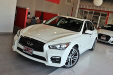 2017 INFINITI Q50 2.0t Sport Premium Plus AWD Drivers Assistance Package Navigation Sunroof 1 Owner