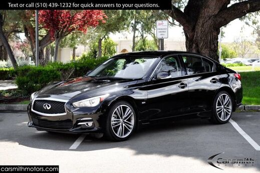 2017 INFINITI Q50 3.0t Premium AWD, Sport Wheels, Technology, Driver Assist & CPO! Fremont CA
