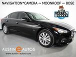 2017 INFINITI Q50 3.0t Premium *NAVIGATION, BACKUP-CAMERA, DUAL TOUCH SCREENS, MOONROOF, HEATED SEATS/STEERING WHEEL, REMOTE START, BOSE AUDIO, BLUETOOTH