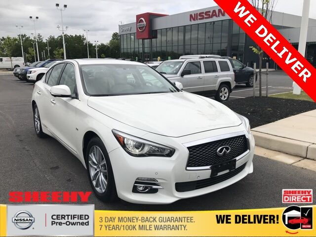 2017 INFINITI Q50 3.0t Premium White Marsh MD