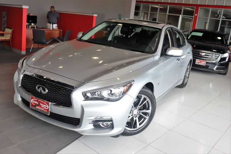 2017 INFINITI Q50 3.0t Signature Edition Sunroof Navigation Backup Camera 1 Owner Springfield NJ