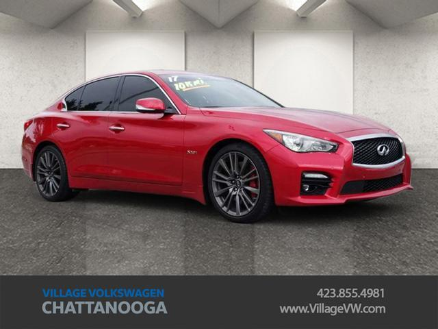 2017 INFINITI Q50 Red Sport 400 Chattanooga TN
