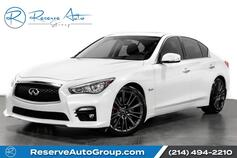 2017 INFINITI Q50 Red Sport 400 Navigation! BackUp Cam! Htd Seats!