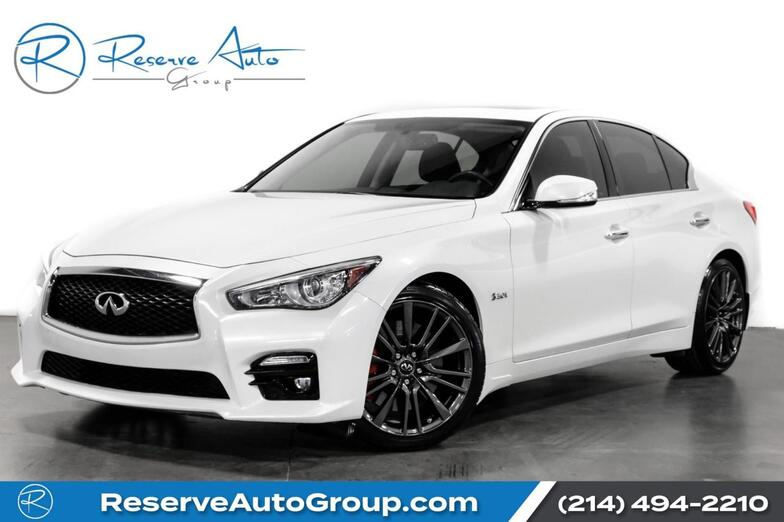 2017 INFINITI Q50 Red Sport 400 Navigation! BackUp Cam! Htd Seats! The Colony TX