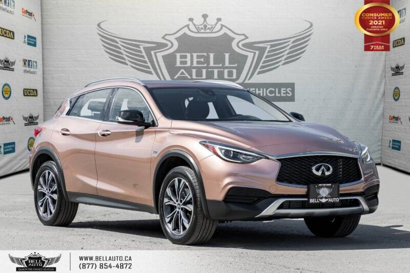 2017 INFINITI QX30 AWD, NO ACCIDENTS, REAR CAM, BLUETOOTH, ALLOY Toronto ON
