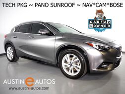 2017_INFINITI_QX30 Premium_*NAVIGATION, PANORAMA MOONROOF, COLLISION ALERT w/BRAKING, LANE DEPARTURE & BLIND SPOT ALERT, ADAPTIVE CRUISE, SURROUND VIEW CAMERAS, LED PKG, NAPPA LEATHER, HEATED SEATS, BOSE AUDIO, BLUETOOTH_ Round Rock TX