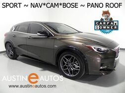 2017_INFINITI_QX30 Sport_*NAVIGATION, PANORAMA ROOF, SURROUND CAMERAS, HEATED SEATS, BOSE AUDIO, BLUETOOTH_ Round Rock TX